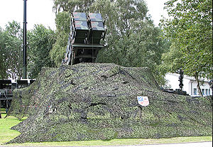 MIM-104 Patriot - German Patriot system with camouflage