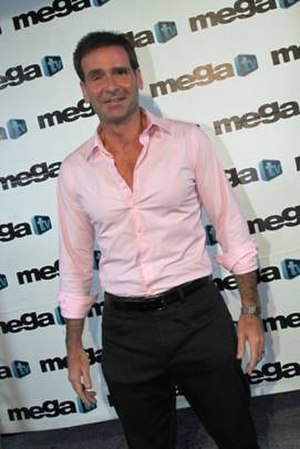 Paul Bouche - Paul Bouche enters Mega TV red carpet 2011