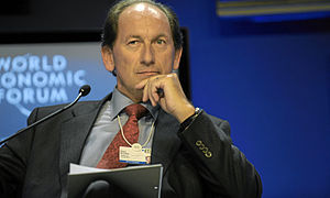 Paul Bulcke - Bulcke at the World Economic Forum in Davos, Switzerland on 30 January