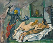 Paul Cézanne - L'Après-midi à Naples - Google Art Project, edited.jpg