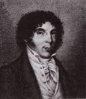 Stefano Pavesi - Stefano Pavesi in a stipple engraving by Luigi Rados.