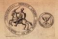 Pečeť Amadea IV. Savojského.png