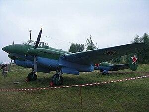 Основной самолёт корпуса Пе-2