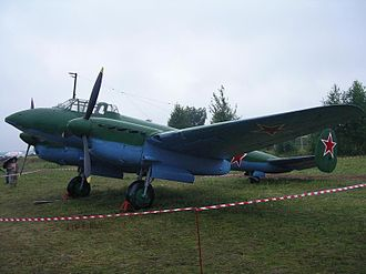 Petlyakov Pe-2 - Image: Pe 2 2004