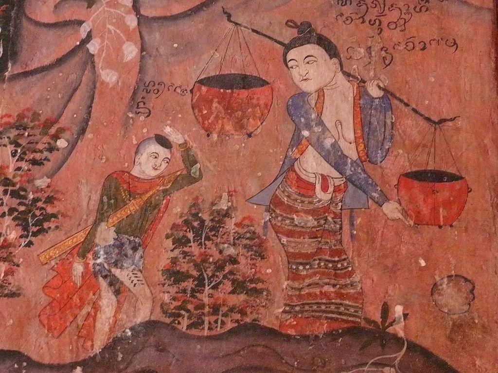 File peinture murale wat phumin2 nan jpg wikipedia for Peinture nacree murale