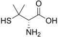 Penicillamine structure.png