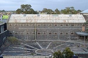 Panopticon - Pentridge Prison Panopticon Ruin 2015