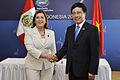 Perú y Vietnam suscriben Memorándum de Entendimiento y Cooperación en APEC (10170871393).jpg
