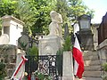 Pere Lachaise Cemetery - Tomb of Frederic Chopin, Paris, 2011.jpg