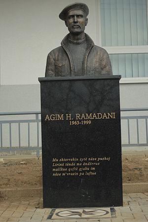Agim Ramadani - Monument of Agim Ramadani