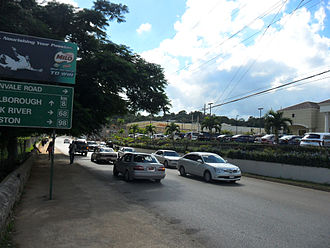 Mandeville, Jamaica - Perth Road, Mandeville in 2012