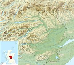 Mapa lokalizacyjna Perth and Kinross