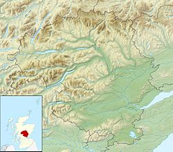 Loch Tummel is located in Perth and Kinross