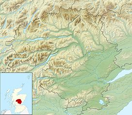 A' Bhuidheanach Bheag is located in Perth and Kinross