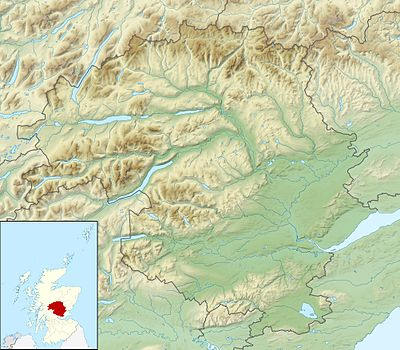 Location map Scotland Perth and Kinross