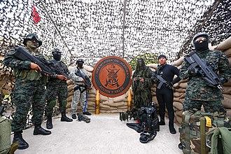 Peruvian Naval Infantry - Peruvian Marines of various specialities.