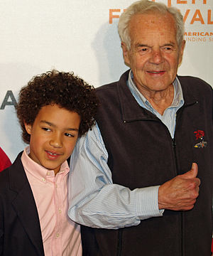 Peter Fernandez - Fernandez attending the 2008 Tribeca Film Festival premiere of Speed Racer, with his grandson