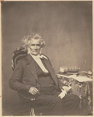 Peter Force - Image: Peter Force by Mathew Brady c 1858