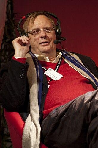 Peter Goers - Goers conducting a live public radio broadcast, 2009