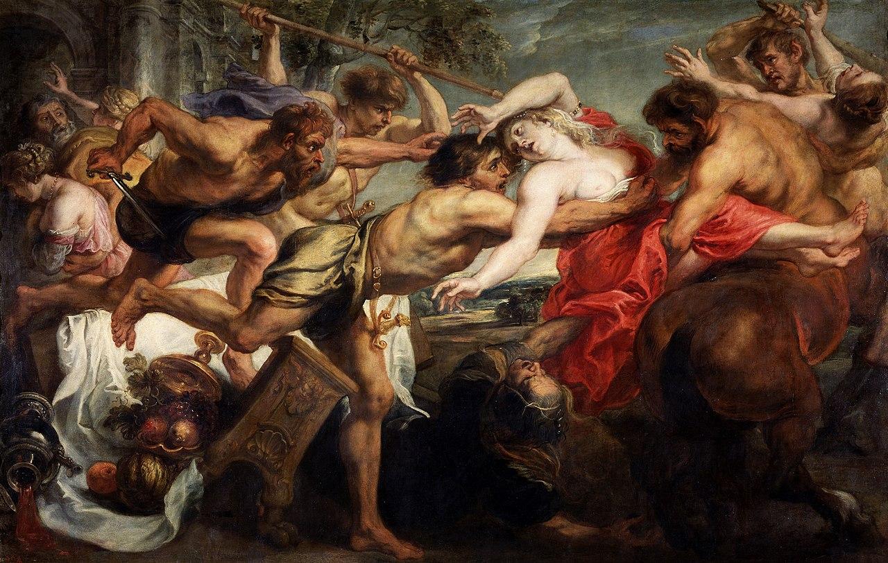 Изнасилования у Рубенса, выпуск №6: «Гипподамия»