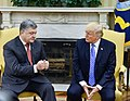 Petro Poroshenko and Donald Trump in the Oval Office, June 2017 (3).jpg