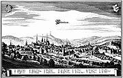 Merian-Stich, Pforzheim 1643