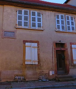 Phalsbourg maison natale Alexandre Weill