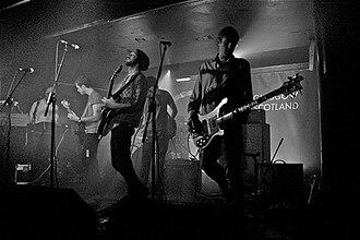 The Phantom Band - Performing in Glasgow's Oran Mor in 2009.
