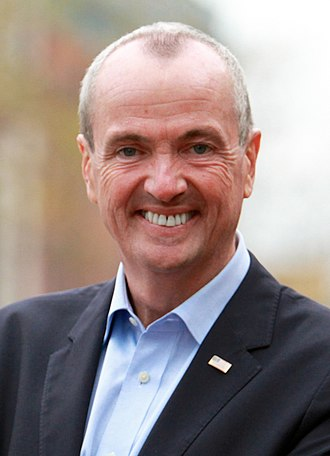 2020 United States gubernatorial elections - Image: Phil Murphy for Governor (cropped 2)