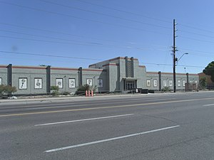 Arizona State Fairgrounds - Image: Phoenix Arizona State Fair WPA Civic Building 1938 1