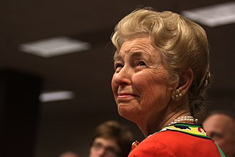 Phyllis Schlafly - Schlafly at a gathering of conservatives in Des Moines, Iowa, in March 2011.