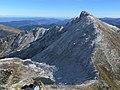 Pic de Soularac, col du Trou de l'Ours sur la ligne de crête.jpg
