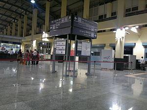 Baiyappanahalli metro station - Image: Pic from Namma metro baiyappanahalli station 1560
