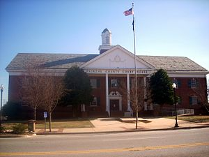 Pickens County, South Carolina - Image: Pickens County Courthouse, Pickens (Pickens County, South Carolina)