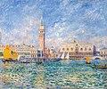 Pierre Auguste Renoir, Vue de Venise (Le Palais des Doges), 1881.jpg