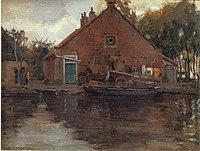 Piet Mondriaan - House on the Gein, 1741 - A245 - Piet Mondrian, catalogue raisonné.jpg