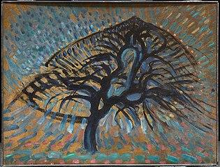 Apple Tree, Pointillist Version