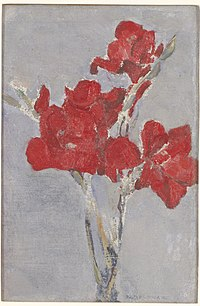 Piet Mondrian - Red Gladioli - 91.148.4 - Minneapolis Institute of Arts.jpg