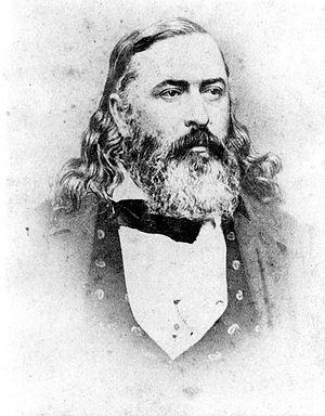 English: Albert Pike of Little Rock (Pulaski C...
