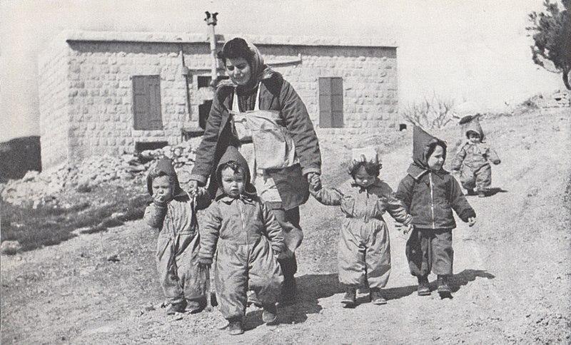 ילדים בקיבוץ סאסא