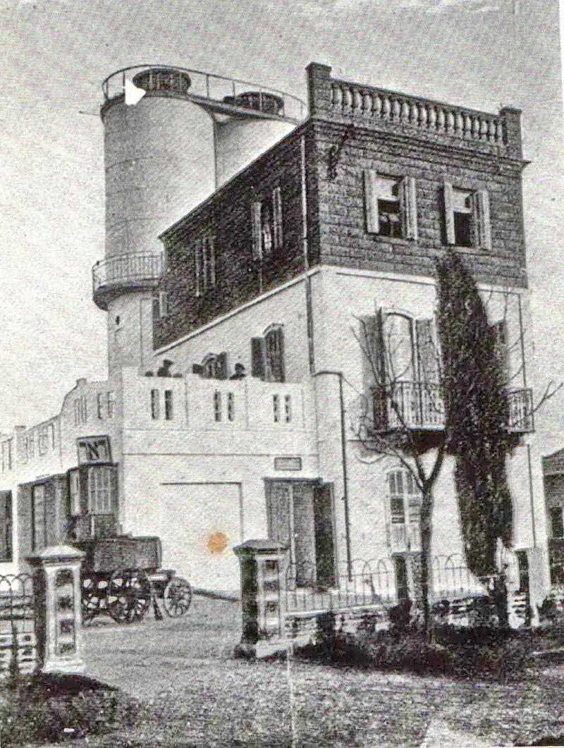 הבנין הציבורי הראשון בתל אביב
