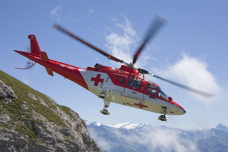 Pilatus Agusta A109 Flug
