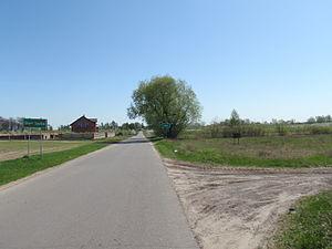Pilica, Masovian Voivodeship - Entering Pilica from Stara Warka