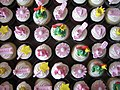 Pink Princess Birthday Cupcakes (3807263207).jpg