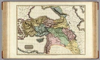 Ottoman Iraq - Image: Pinkerton, John. Turkey in Asia. 1813