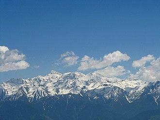 Ravi River - Pir Panjal Range