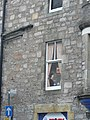 Pitlochry, painted window detail - geograph.org.uk - 598975.jpg