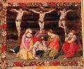 Pittore tosco-emiliano, misteri del rosario, 1550-1600 circa 11 crocifissione.JPG