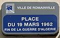 Plaque Place 19 Mars 1962 - Romainville (FR93) - 2021-04-24 - 1.jpg