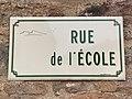 Plaque Rue École - Solutré-Pouilly (FR71) - 2021-03-02 - 2.jpg